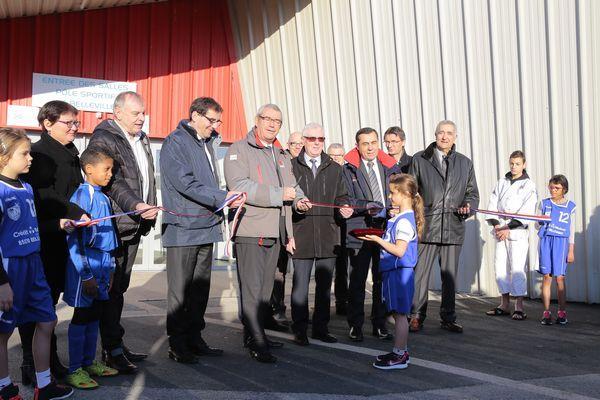 Inauguration du complexe sportif